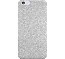 White Patterned Caesar Stone iPhone Case/Skin