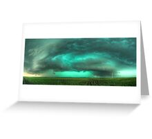 Beast of Green - HDR Panorama Greeting Card