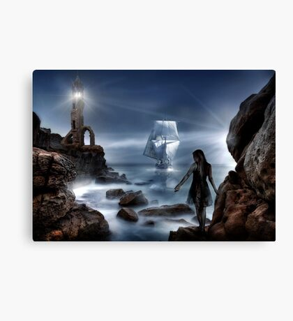Smugglers Cove Canvas Print