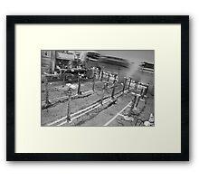 Surfboard factory Framed Print