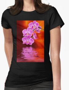 Orchid - 17 Womens Fitted T-Shirt