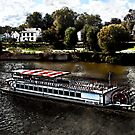 Valley Gem Sternwheeler by Ted Petrovits