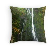"""Madison Creek Falls"" Throw Pillow"