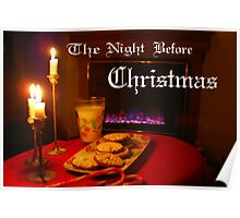"""Christmas Eve Night"" Poster"