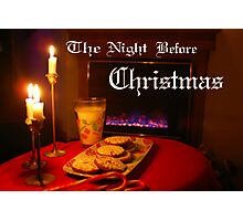 """Christmas Eve Night"" Photographic Print"