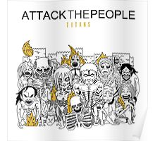 Attack the People Poster