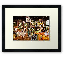 Diggers Club Shop Framed Print