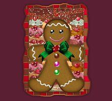 Gingerbread Man T-Shirt Womens Fitted T-Shirt
