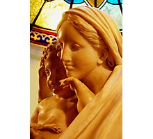 Mary and Baby Photographic Print