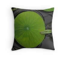 Water Lilly - San Francisco, Golden Gate Park Throw Pillow