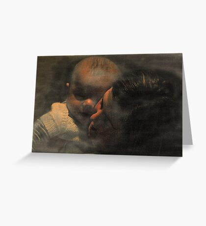 """""""Love knows no bounds..."""" Greeting Card"""