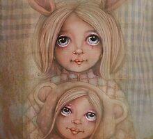 Bunny and Bear by © Cassidy (Karin) Taylor