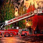 Salem Fire Engine by pdsfotoart