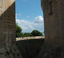 castle Palma de Mallorca Spain by Margaret  Shark