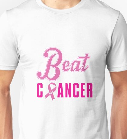 Beat Breast Cancer Unisex T-Shirt