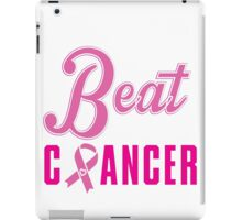 Beat Breast Cancer iPad Case/Skin