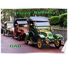 Happy Birthday Dad Poster
