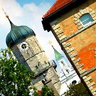 Weilheim at an angle by ©The Creative  Minds