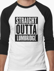 Straight Outta Lumbridge Men's Baseball ¾ T-Shirt