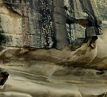 Rock Formation 1,  Sydney, Australia by Angela Gannicott