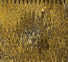Golden Forest Rhythmic Pattern by SpieklyArt