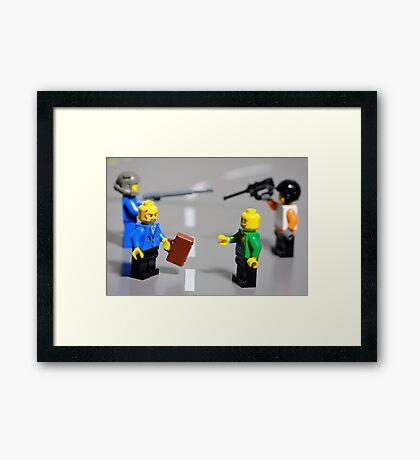 The Ransom  Framed Print