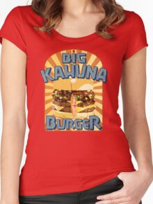 Big Kahuna Burger Fast Food Women's Fitted Scoop T-Shirt