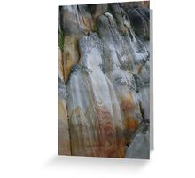 Rock Formation 10, Sydney, Australia. Greeting Card
