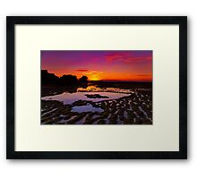 """""""Ripples and Reflections"""" Framed Print"""