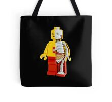 Lego - Lego Man - Anatomy Tote Bag