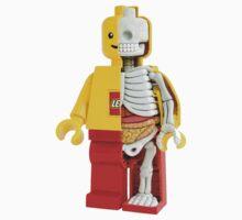 Lego - Lego Man - Anatomy by hidden-arts