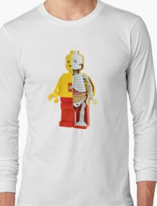 Lego - Lego Man - Anatomy Long Sleeve T-Shirt