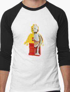 Lego - Lego Man - Anatomy Men's Baseball ¾ T-Shirt