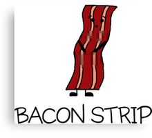 Bacon Strip Canvas Print