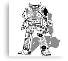 Nineties Robot Canvas Print