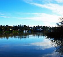 Murry River, Mannum by Claire Davie
