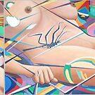 Steph's Life ( triptych ) by Joseph Barbara