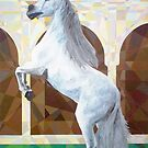 Prismatic Andalusian Stallion by Joseph Barbara