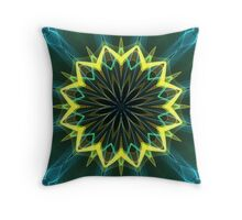 Flame 9-b Throw Pillow