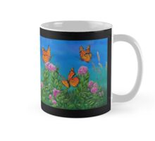 """Bouquet with Butterflies"" -second version on mugs  Mug"