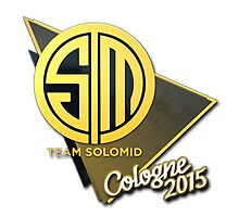 Team SoloMid (TSM) Cologne 2015 Sticker by BRPlatinum