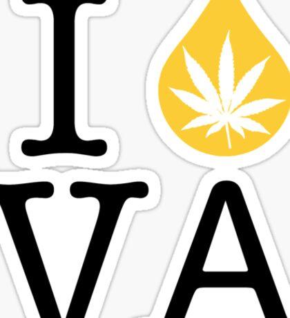 I Dab VA (Virginia) Weed Sticker