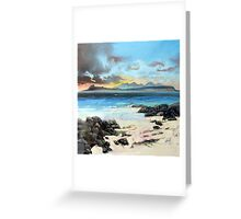 Eigg and Rum Greeting Card