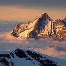Sunset on the Bernese Alps, Switzerland by Hugh Chaffey-Millar