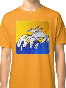Dolphins Playing  Classic T-Shirt