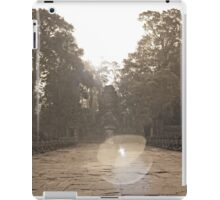 Preah Khan Gate, Siem Reap iPad Case/Skin