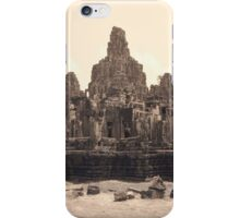 Bayon Temple, Angkor iPhone Case/Skin