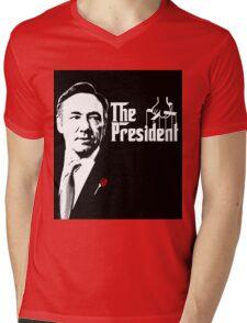 Frank Godfather Mens V-Neck T-Shirt