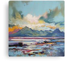 Cuillins from Elgol Canvas Print