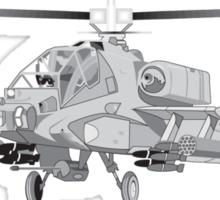 AH-64 Apache Sticker